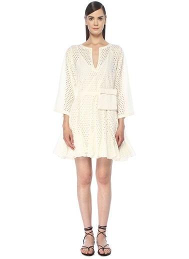 Rhode Plaj Elbisesi Beyaz